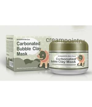 Очищающая кислородная маска для лица на основе глины Bioaqua Carbonated Bubble Clay Mask