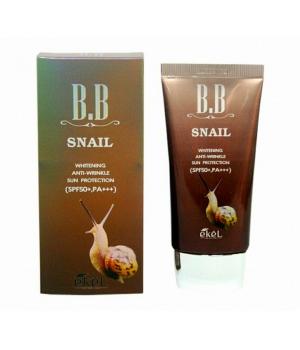 Улиточный бб крем ekel bb snail