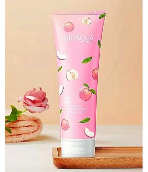 Солевой скраб для тела с экстрактом персика bioaqua