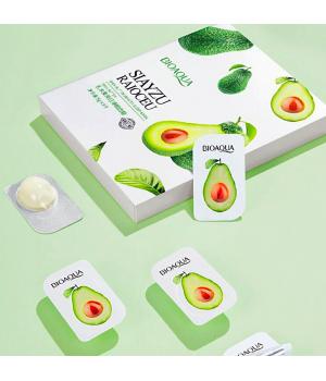 Набор ночных несмываемых масок с экстрактом авокадо Bioaqua