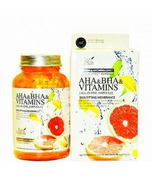 Ампульная сыворотка для лица с витаминами Eco branch