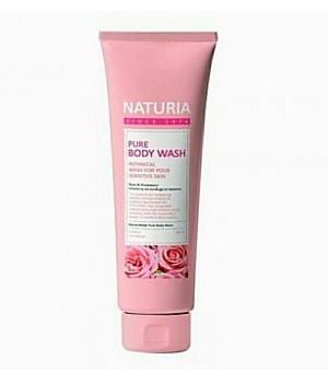 Гель для душа с ароматом розовой воды, с лепестками жасмина Evas