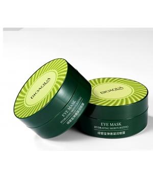 Гидрогелевые патчи для глаз с экстрактом морских водорослей и зеленым чаем Bioaqua Eye Mask
