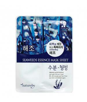 Тканевая маска для лица с экстрактом морских водорослей