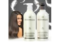 Профессиональный безсиликоновый шампунь для волос LADOR Moisture Balancing Shampoo