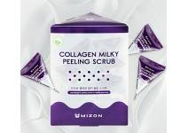 Скраб для лица с коллагеном и молочными протеинами mizon