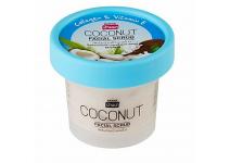 Скраб для лица с кокосом, коллагеном и витамином Е Banna