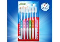 Набор зубных щеток для всей семьи BioAqua 6 pack