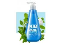 Гелевая зубная паста с ароматом и вкусом мяты Bioаqua Pum Page