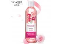 Тонер для лица с лепестками цветов розы Bioaqua Rose Petals Toner