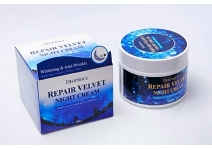 Антивозрастной восстанавливающий ночной крем для лица Deoproce