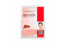 Подтягивающая маска для лица с коллагеном и экстрактом трепанга dermal