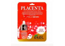 Маска для лица с плацентой ekel