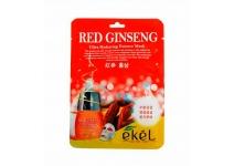 Тканевая маска с женьшенем Ekel Red Ginseng Essential Mask