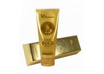 Пенка для умывания с муцином улитки и золотом Elizavecca 24k Gold Snai