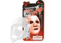 Тканевая маска для лица с женьшенем ELIZAVECCA Red Ginseng Deep Power Ringer Mask Pack