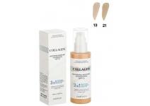 Тональный крем с коллагеном 3 в 1 Enough Collagen Whitening Moisture