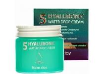 Крем для лица с 5 видами гиалуроновой кислоты farmstay