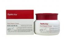 Антивозрастной крем для лица с улиткой FARMSTAY Snail Repair Cream