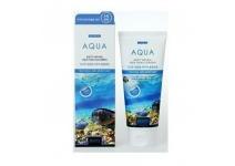 Очищающая увлажняющая пенка JIGOTT NATURAL Aqua Foam Cleansing
