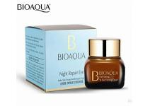 Ночной антивозрастной крем для век BioAqua