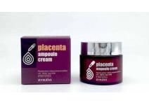 Ампульный крем для лица с плацентой Placenta Ampoule Cream zenzia