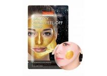 Очищающая маска-пленка для лица purederm (золотая)
