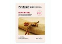 Тканевая маска для лица с восстанавливающим и омолаживающим эффектом Secriss