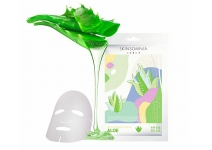 Тканевая маска для лица с экстрактом Алоэ skinsomnia