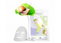 Тканевая маска для лица с экстрактом улитки skinsomnia