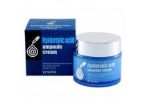 Крем для лица увлажняющий с гиалуроновой кислотой Zenzia HYALURONIC ACID Ampoule Cream