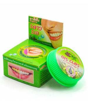 Зубная паста 5 Star 5 отбеливающая травяная зеленая
